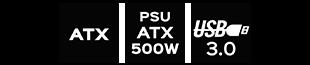 atx-usb-500watx