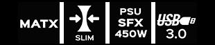 matx-usb3-slim-psu450