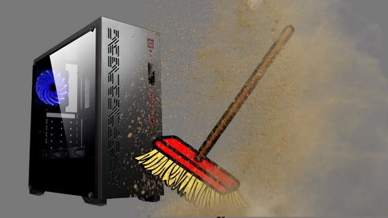 Cómo limpiar tu caja PC