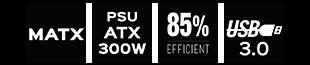 matx-usb-85eficience-300watx