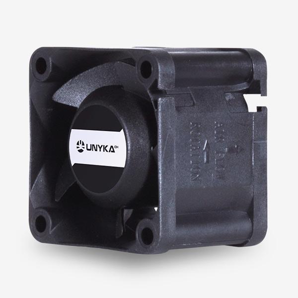 Ventilador Servidor 40 mm Negro